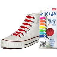 Shoeps - Silikon rote Schnürsenkel