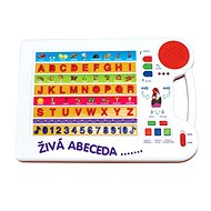 Náučná tabuľka - Živá abeceda