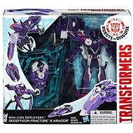 Transformers Rid - Souboj miniconů Decepticon Fracture & Airazor - Figurka