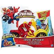 Spiderman - Iron spider se závodním vozidlem