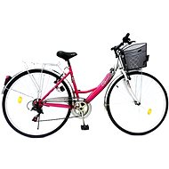 Olpran Mercury lux strieborno/ružové - Bicykel