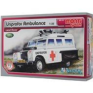Monti 35 - UNPROFOR Ambulance Land Rover mierka 1:35 - Stavebnica