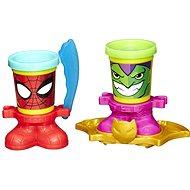 Play-Doh Marvel - Poháriky vo staru hrdinov Spiderman & Goblin