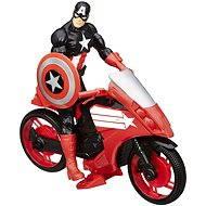 Avengers - Captain America mit einem neuen Auto