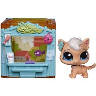 Littlest Pet Shop - pet with mini small house Meow Milkone