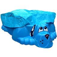 Pieskovisko - bazénik Psík modré s plachtou