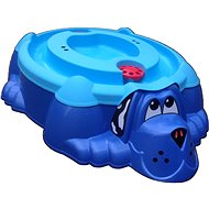 Sandpit - Pool Blue dog with blue cover - Sandpit