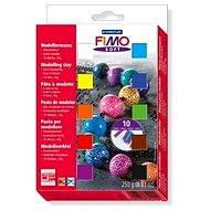 Fimo Soft-8023 - ein Satz von 10 Farben - Modeliermasse