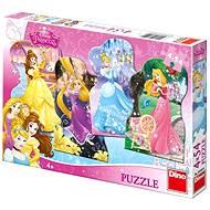 Dino Hravé princezny - Puzzle