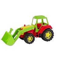 Traktor s lopatou - Sada na písek