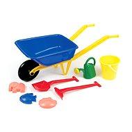 Kunststoff-Rad mit Zubehör - Sandplatz-Set