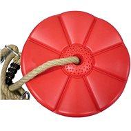 Houpačka CUBS Disk - květinka červená