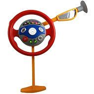 Children's steering wheel in the car