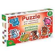 Puzzle pro nejmenší - Zvířátka - Puzzle