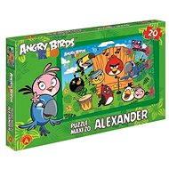 Angry Birds Rio - Maxi puzzle Ptačí koncert 20 dílků - Puzzle