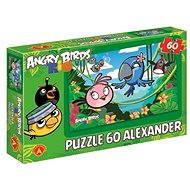 Angry Birds Rio - Voňavá džungľa 60 dielikov - Skladačka