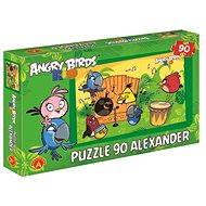 Angry Birds Rio - V rytmu samby 90 dílků - Puzzle