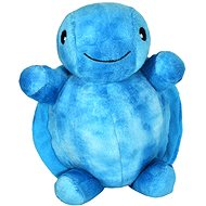 Plyšová želvička s ukolébavkou - modrá
