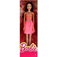 Mattel Barbie dress Brunette in broskových