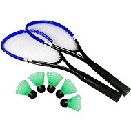 Badminton Set blau