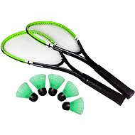Badminton set green