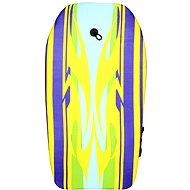 Yellow bodyboard