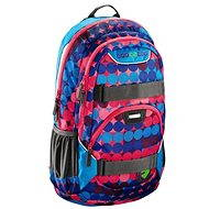 School Backpack Coocazoo Rayday - Dots Methyl