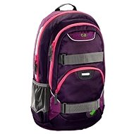 School Backpack Coocazoo Rayday - Purple Magentic