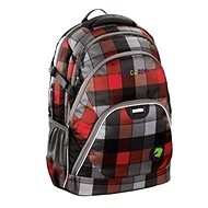 School Backpack Coocazoo EvverClevver - Red District