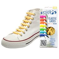 Shoeps - Silikónové šnúrky yellow sunny