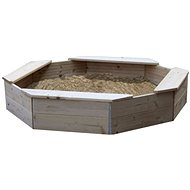 Sandpit with safety net - Sandpit