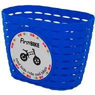 FirstBike košík modrý - Košík na kolo