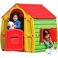 Domeček Magical s červenou střechou - Dětský domeček
