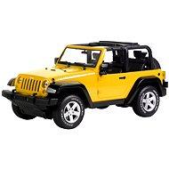 Auto Jeep RtG žluté - RC model