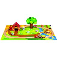 Bino Wooden train sets - Country