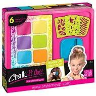 Style Me up - Set Haar Kreide und Vorlagen - Verschönerungsset