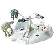 Hot Wheels - Star Wars game set with the starship Hoth
