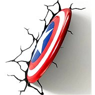 Philips 3D Wall light - Captain America's shield