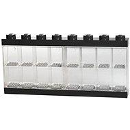 LEGO Zberateľská skrinka na 16 figúrok - čierna - Stavebnica