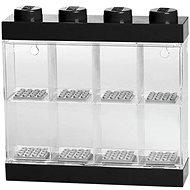 LEGO Zberateľská skrinka na 8 figúrok čierna - Stavebnica