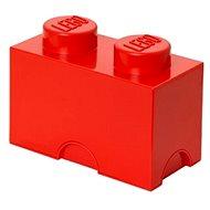 LEGO storage box 125 x 250 x 180 mm - red