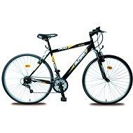 Olpran Pánsky krosový bicykel Cruez sus čierno/oranžový