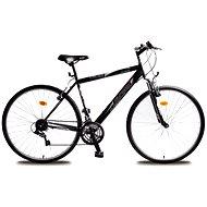 Olpran Pánsky krosový bicykel Cruez sus čierno/červený
