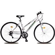 Olpran Dámsky krosový bicykel Cruez sus bielo/zelený