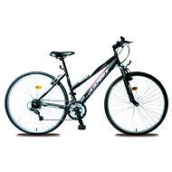 Olpran Dámsky krosový bicykel Cruez sus čierno/ružový