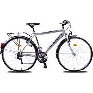 Olpran Pánsky trekový bicykel Mercury sivo/čierny