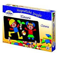 Wooden Toys - Magnetic Puzzle Clowns