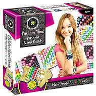 Fashion Time - Production of neon beads