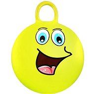 Springenden Ball - gelb