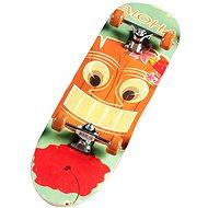 Skateboard - oranžový
